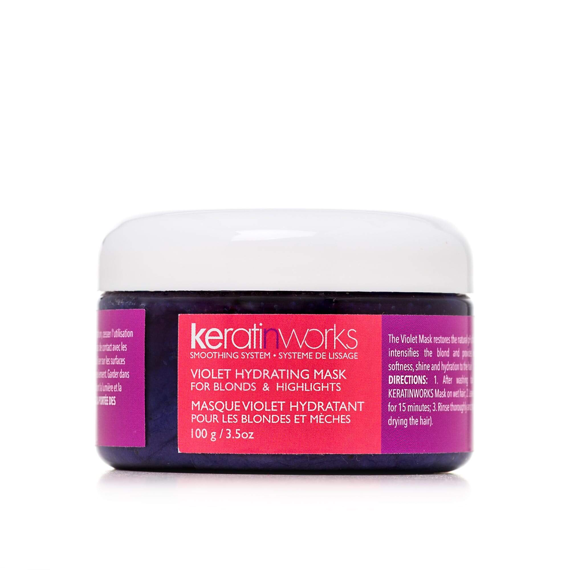 KERATINWORKS Hydrating Mask for Blonds and Highlights