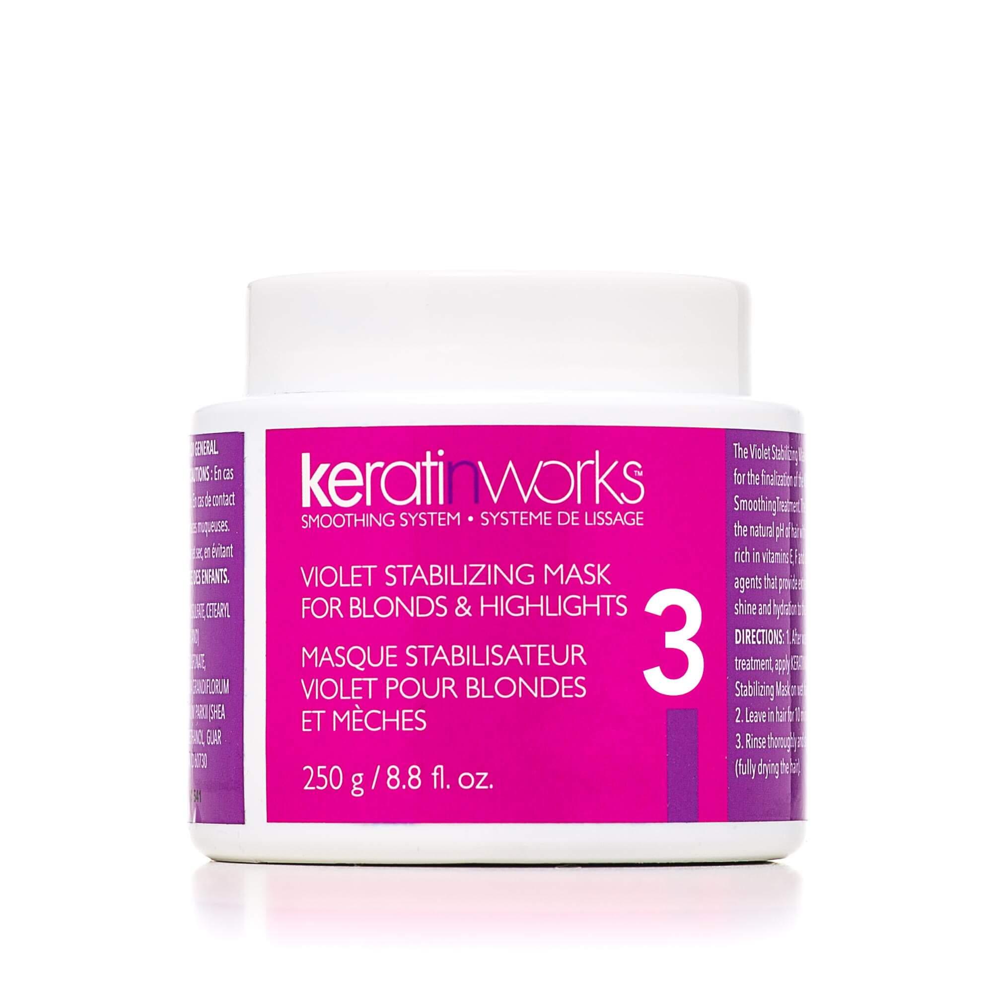 KERATINWORKS Stabalizing Mask for Blonds 250g